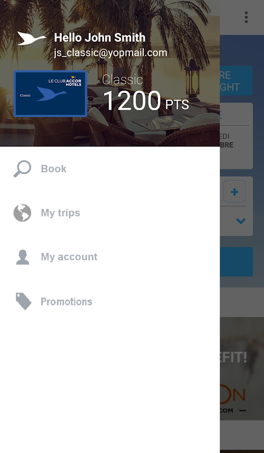 AccorHotels - Hotel booking- screenshot