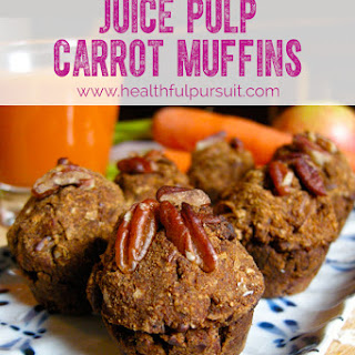 Carrot Juice Pulp Muffins