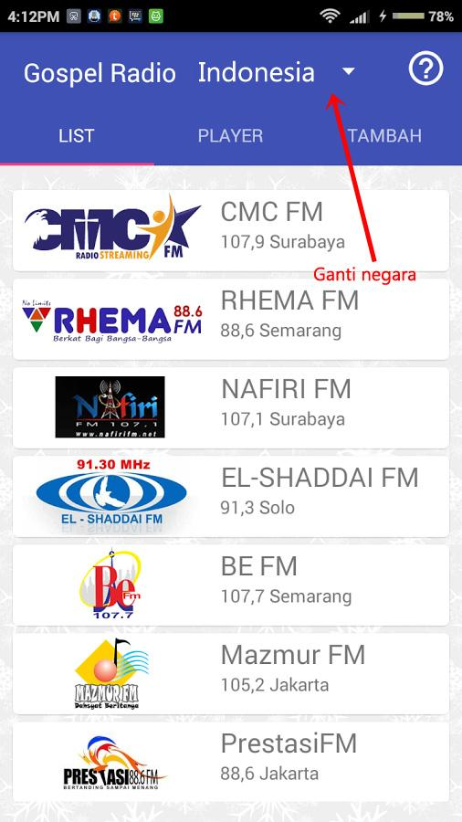 International Gospel Radio- screenshot