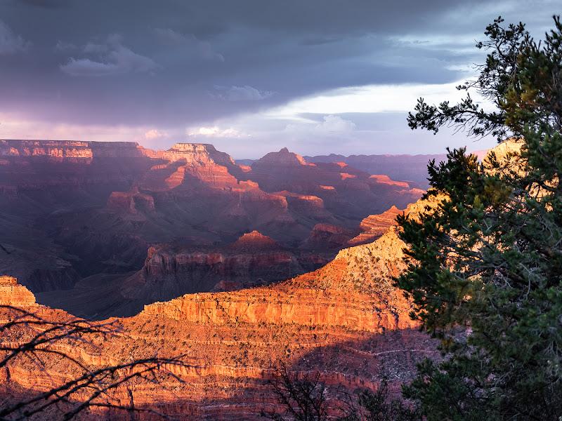 Tramonto sul Grand Canyon di GuidoP