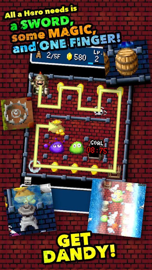 DANDY DUNGEON- screenshot