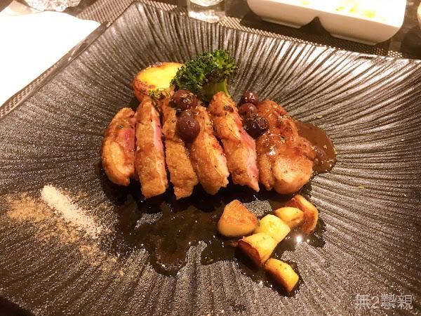 新竹縣竹北市享廚鐵板燒|選用新鮮的食材打造精緻的料理.激推法式莓果櫻桃鴨~聚餐約會的好所在