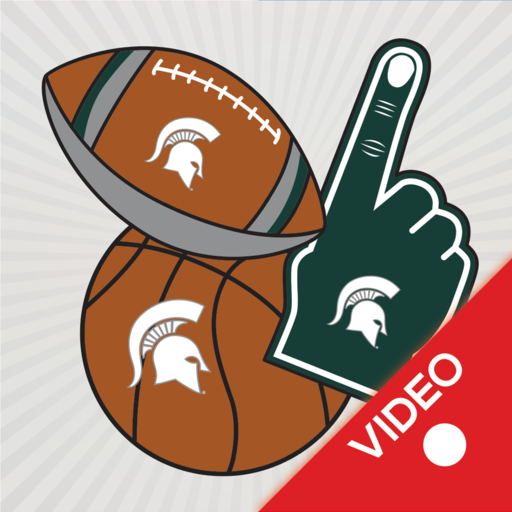 Michigan St. Spartans Animated Selfie Stickers