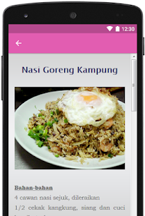 Nasi Goreng Sedap for PC-Windows 7,8,10 and Mac apk screenshot 2