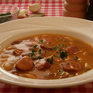 Grah S Kobasicama (Beans with Sausages) Recipe