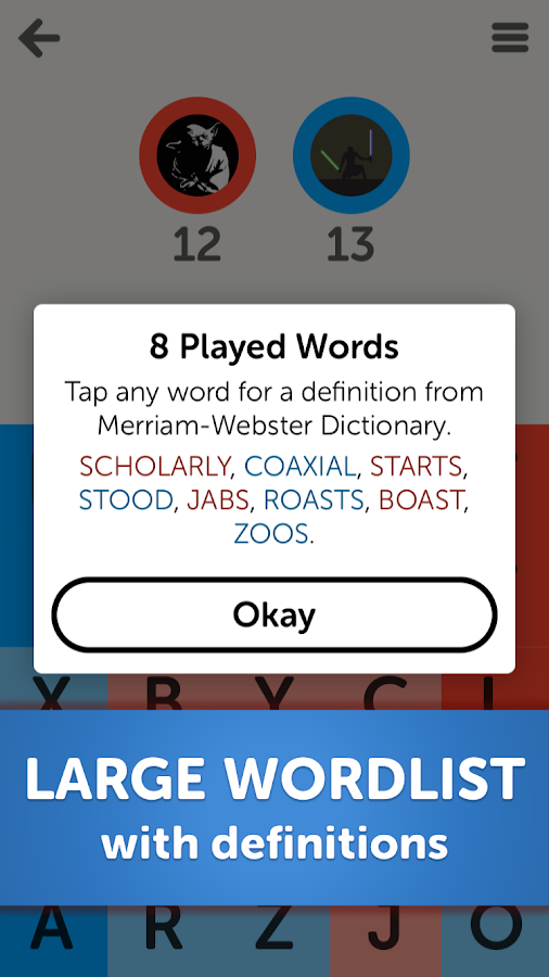 Letterpress - Word Game- screenshot