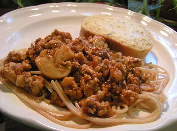Heart Healthy Spaghetti