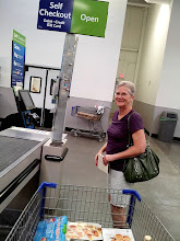 Photo: I love the self checkout lanes we have at our Sam's Club, especially when I'm doing a smaller shopping trip. It's so quick and easy. With my mom to help, it's even faster!