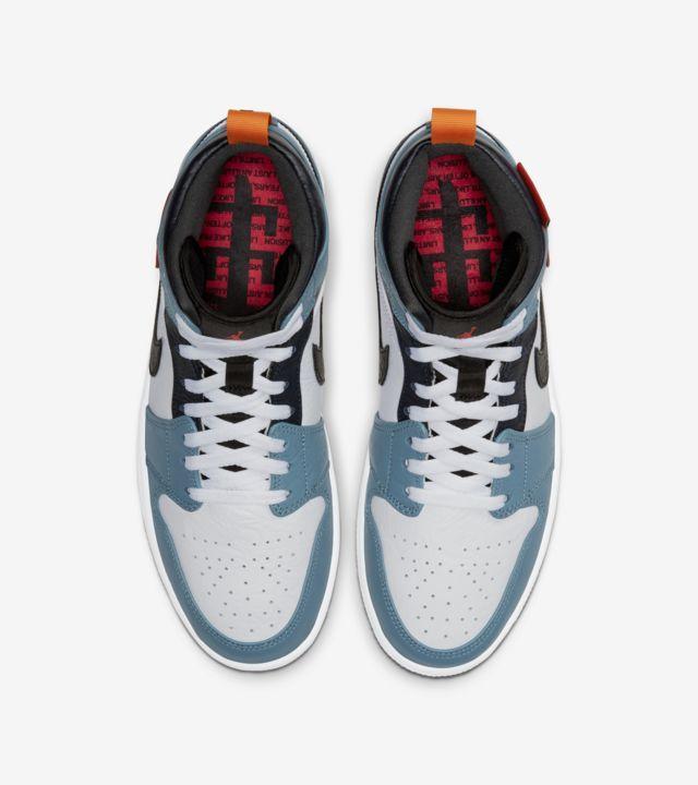 """Air Jordan 1 Mid Fearless FACETASM"" รองเท้า Jordan 1 ที่มีความแตกต่าง 02"
