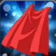 赤のケープ