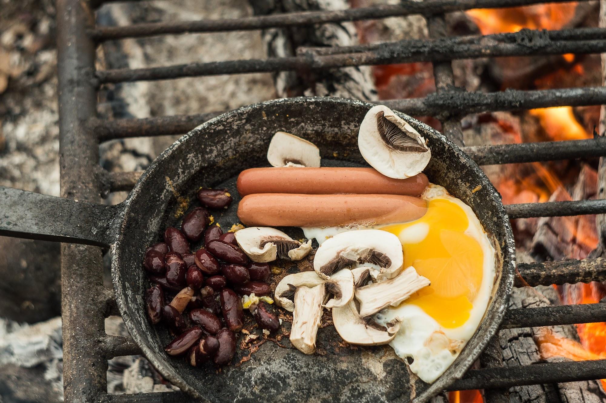 Англійський сніданок в мотопоході