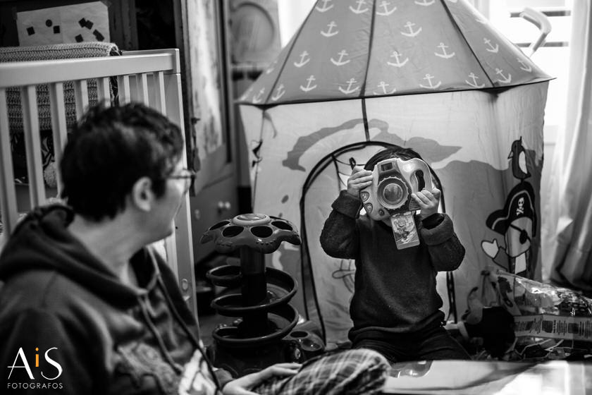 Reportaje lifestyle - Una mañana con Diego