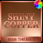 Премиум Shiny Copper Theme for Xperia временно бесплатно