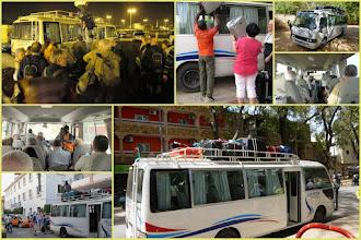 Photo: Sn5Ins0010-160203 notre bus, chargements et passagers Mont.JM_JPG