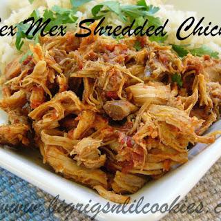 Tex Mex Shredded Chicken