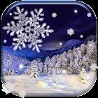 Chute de neige Fond Animé icon