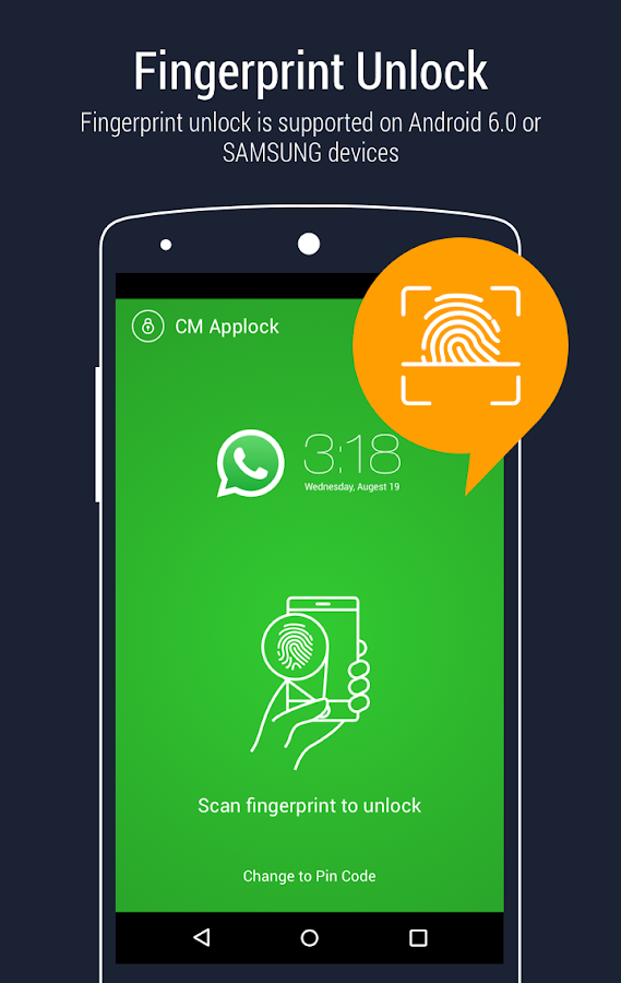 AppLock - Fingerprint Unlock – Capture d'écran