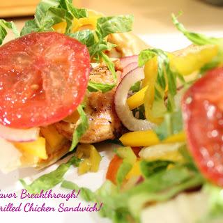 Italian Grilled Chicken Sandwiches!