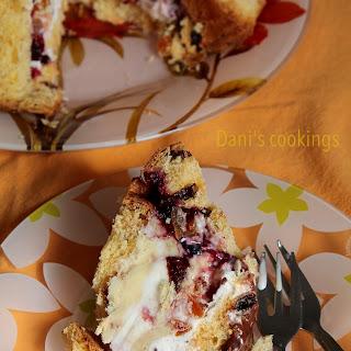 Panettone Ice Cream Cake.