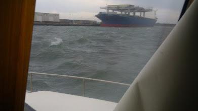 Photo: Portside Marina. Morehead City NC. Very windy and rough. Very.
