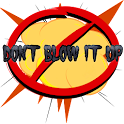 Don't blow it up icon