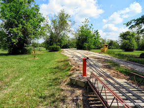 Photo: Ken Smith's newly installed raised remote switch throw at Sumrall.     HALS Public Run Day 2014-0419 RPW  11:46 AM