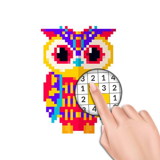 Free Color by Number - Pixel Art