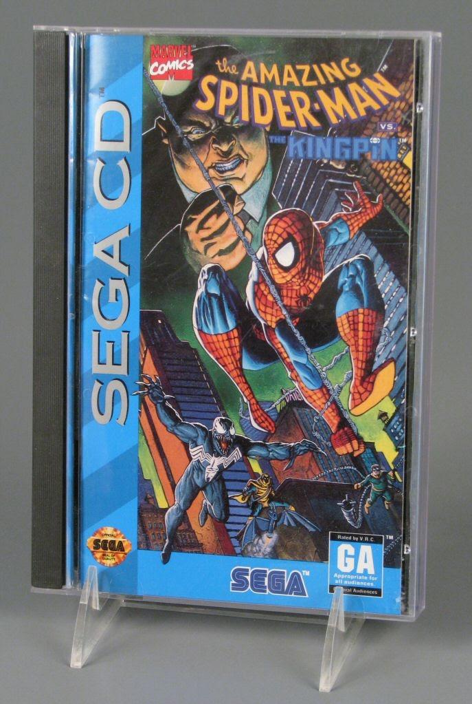 Spiderman vs kingpin sega cd rom