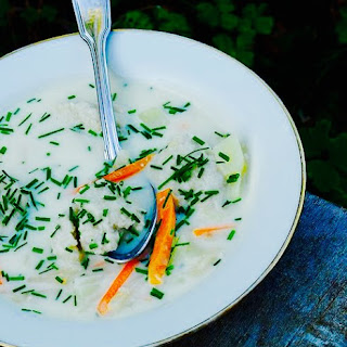 The Hirshon Norwegian Fish and Root Vegetable Chowder – Bergensk Fiskesuppe Recipe