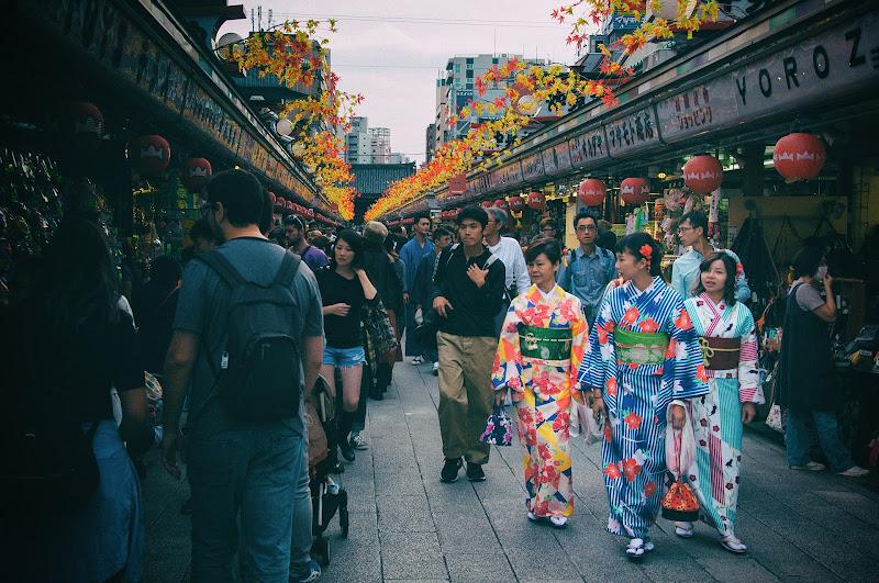 Tre kimoni di giangale
