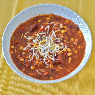 Kidney Bean Chili Vegetarian Recipes.