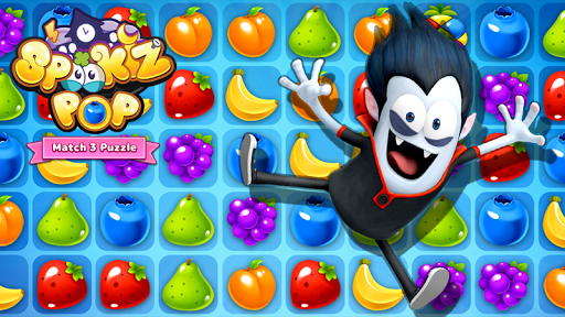 SPOOKIZ POP - Match 3 Puzzle  captures d'écran 2