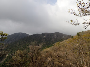 目指す国見岳