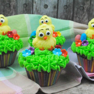 Easter Ducky Cupcakes
