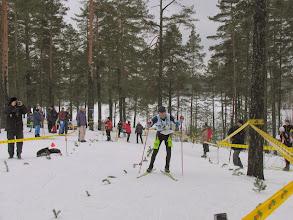 Photo: Лесников на финише