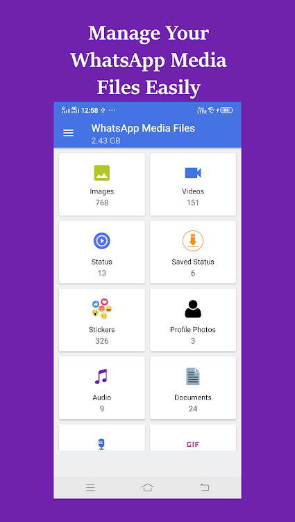 Status Saver Cleaner File Manager For Whatsapp