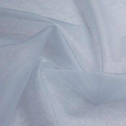 Sidenorganza - ljusblå
