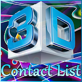 3D Contacts List