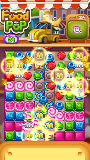 Food POP : puzzle World