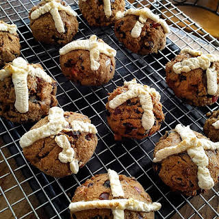 Gluten and Dairy Free Hot Cross Buns.