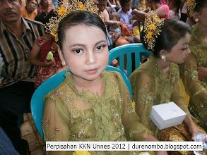 Photo: Tarian dalam acara perpisahan KKN Unnes 2012