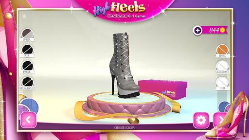High Heels Designer Girl Games 2.1.1 Screenshots 4