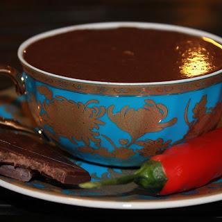 Chili Infused Italian Hot Chocolate