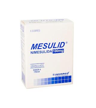 Mesulid 100Mg Sobres
