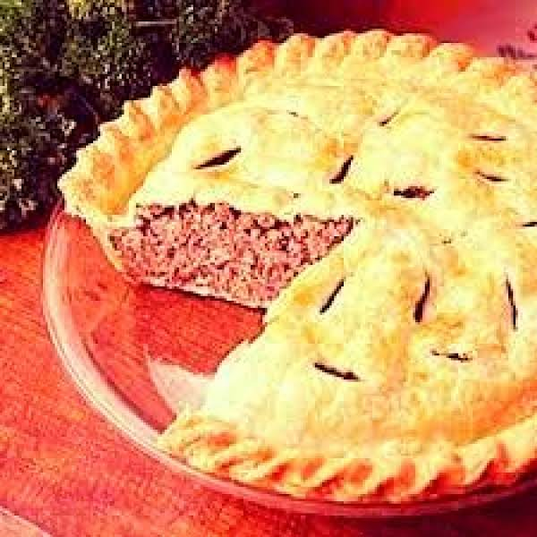 Frech Meat Pie (great-great Grandma's Recipe)