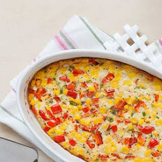 Easy Gluten Free Corn Pudding.