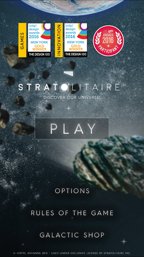 Stratolitaire- screenshot