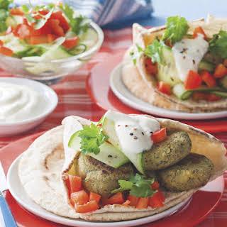 Falafel Pitas.