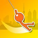 Crazy Stickman – Swing&Hook icon