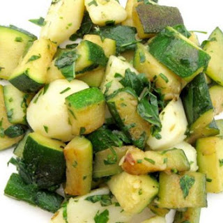 Refreshing Zucchini and Potatoes
